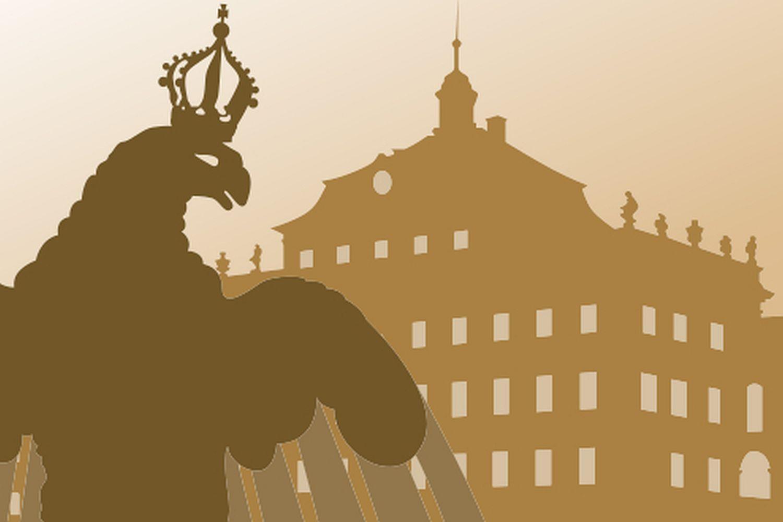 Symbol für Standardführungen im Residenzschloss Ludwigsburg