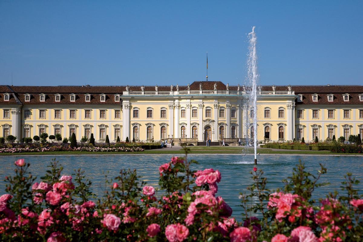 New central building at Ludwigsburg Residential Palace. Image: Staatliche Schlösser und Gärten Baden-Württemberg, Achim Mende