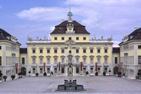 Der Alte Hauptbau des Residenzschlosses Ludwigsburg