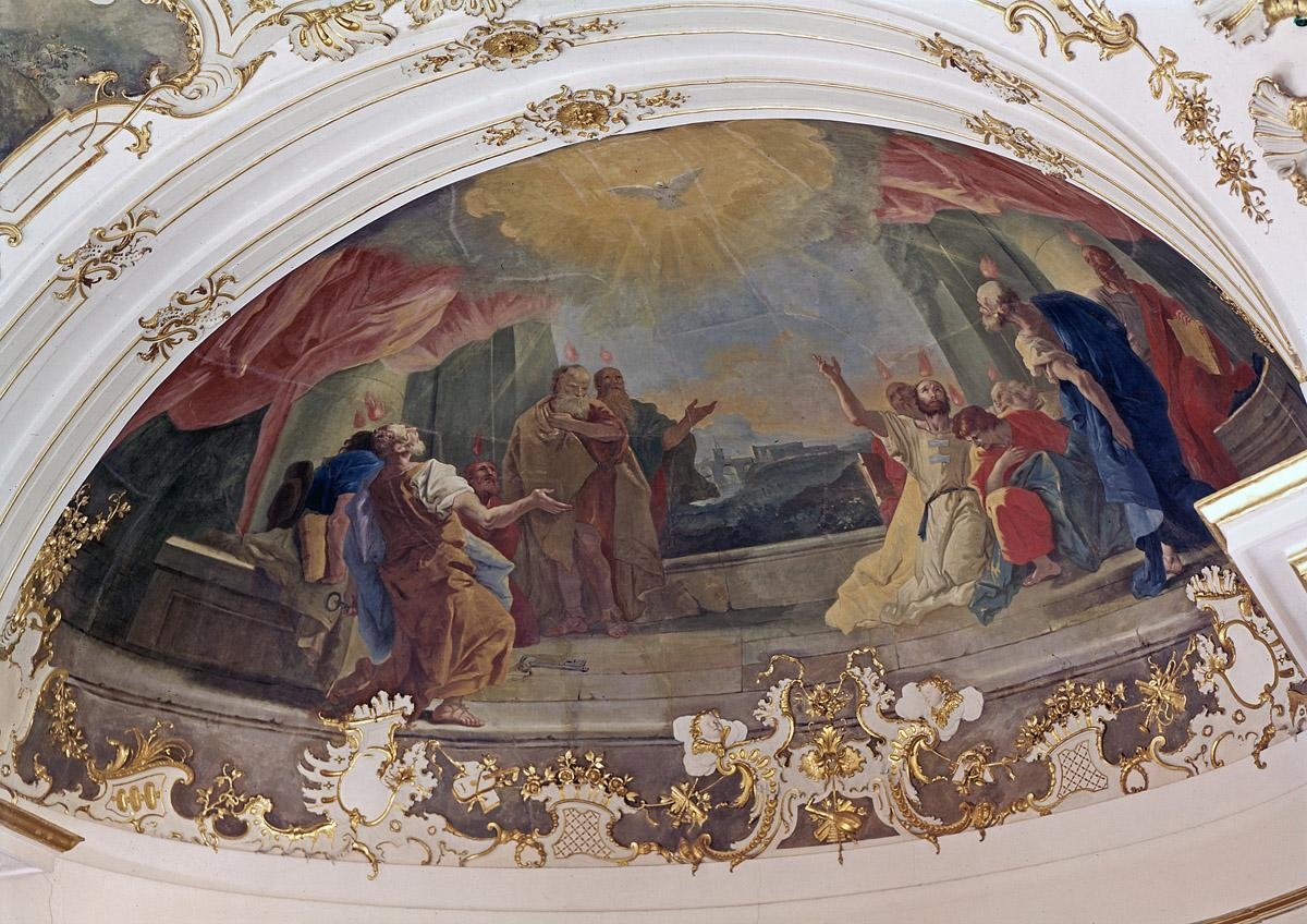 "Ludwigsburg Residential Palace, ""Outpouring of the Holy Spirit"" by Livio Retti; photo: Landesmedienzentrum Baden-Württemberg, Dieter Jäger"