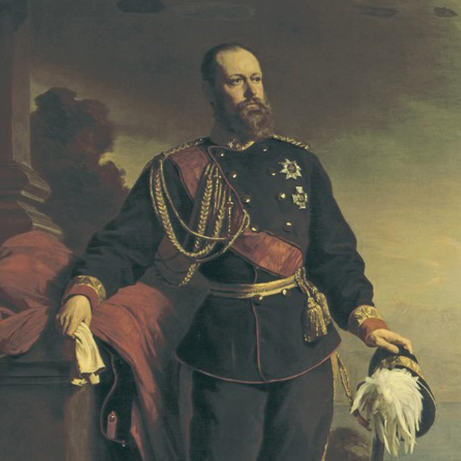 König Karl, Sohn von Pauline und Wilhelm; Foto: Landesmedienzentrum Baden-Württemberg, Dieter Jäger