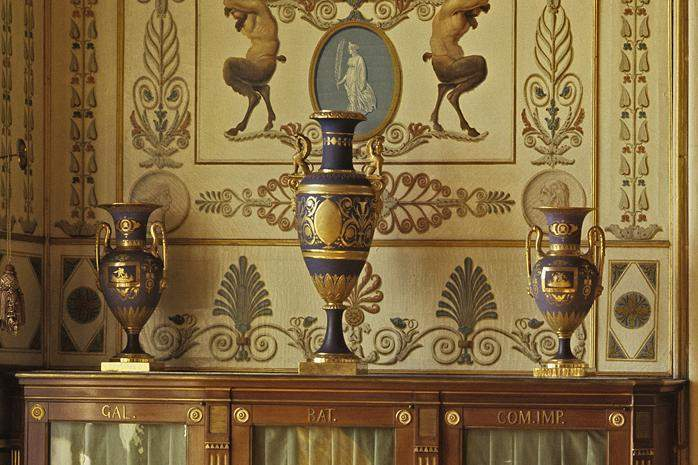 Partie de la salle de registre du roi FriedrichIer au château résidentiel de Ludwigsbourg; crédit photo: Staatliche Schlösser und Gärten Baden-Württemberg, ArnimWeischer