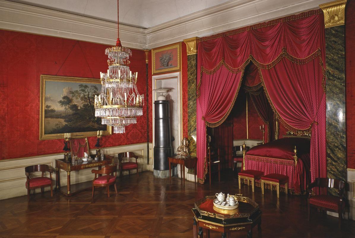 Das Schlafzimmer von Königin Charlotte Mathilde im Residenzschloss Ludwigsburg; Foto: Landesmedienzentrum Baden-Württemberg, Dieter Jäger