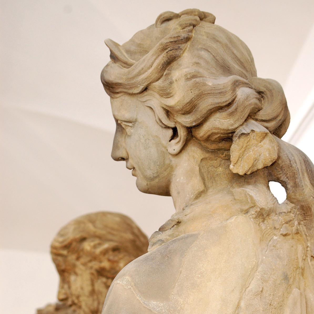 Detail aus dem Lapidarium des Residenzschlosses Ludwigsburg; Foto: Staatliche Schlösser und Gärten Baden-Württemberg, Norbert Stadler