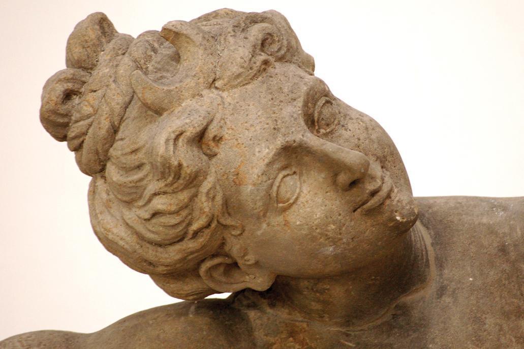 Detail aus dem Lapidarium im Residenzschloss Ludwigsburg; Foto: Staatliche Schlösser und Gärten Baden-Württemberg, Norbert Stadler