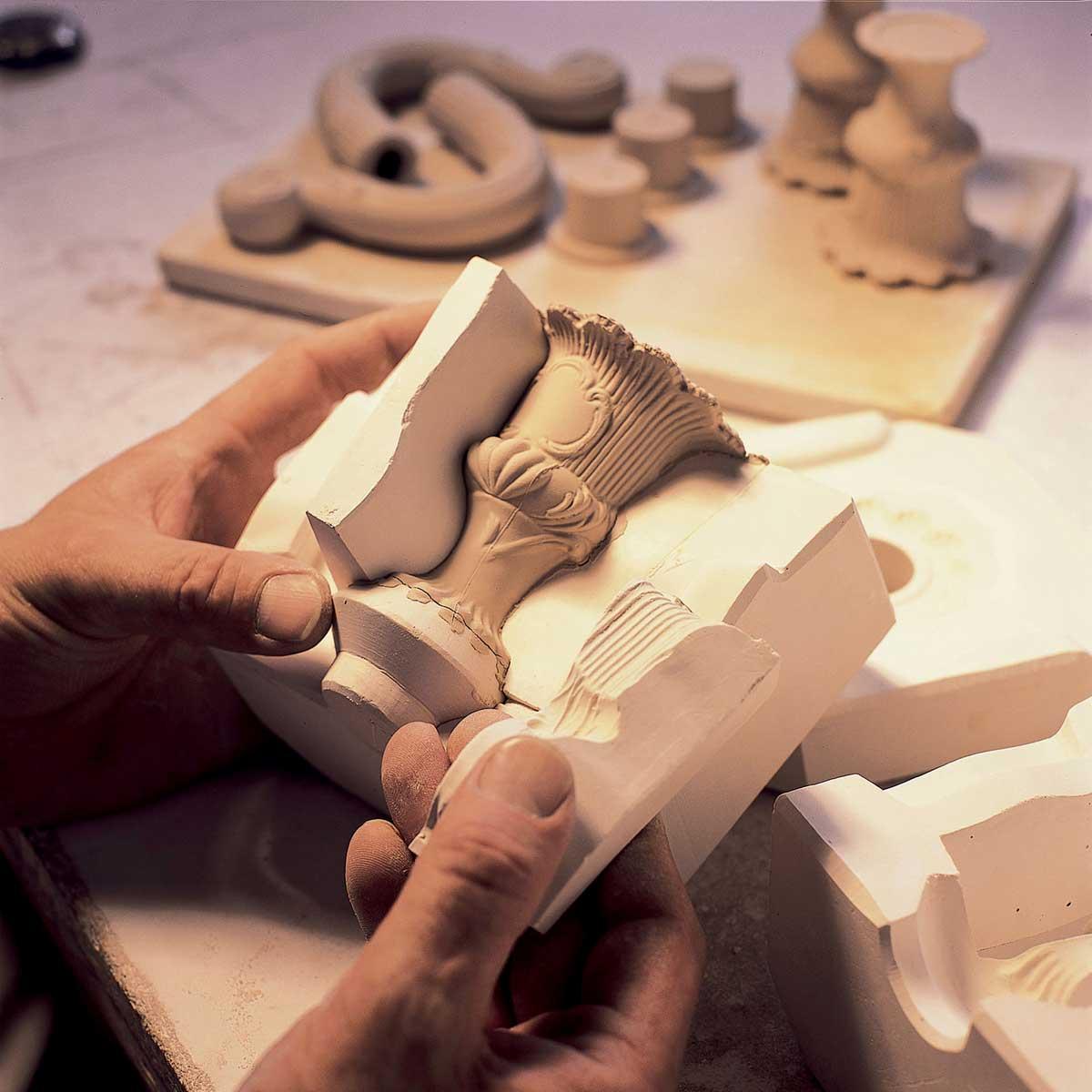 Porzellanmanufaktur Ludwigsburg: Formen; Foto: Porzellanmanufaktur Ludwigsburg GmbH