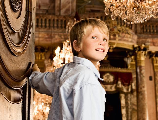 Photoshoot at Ludwigsburg Residential Palace; photo: Staatliche Schlösser und Gärten Baden-Württemberg, Niels Schubert
