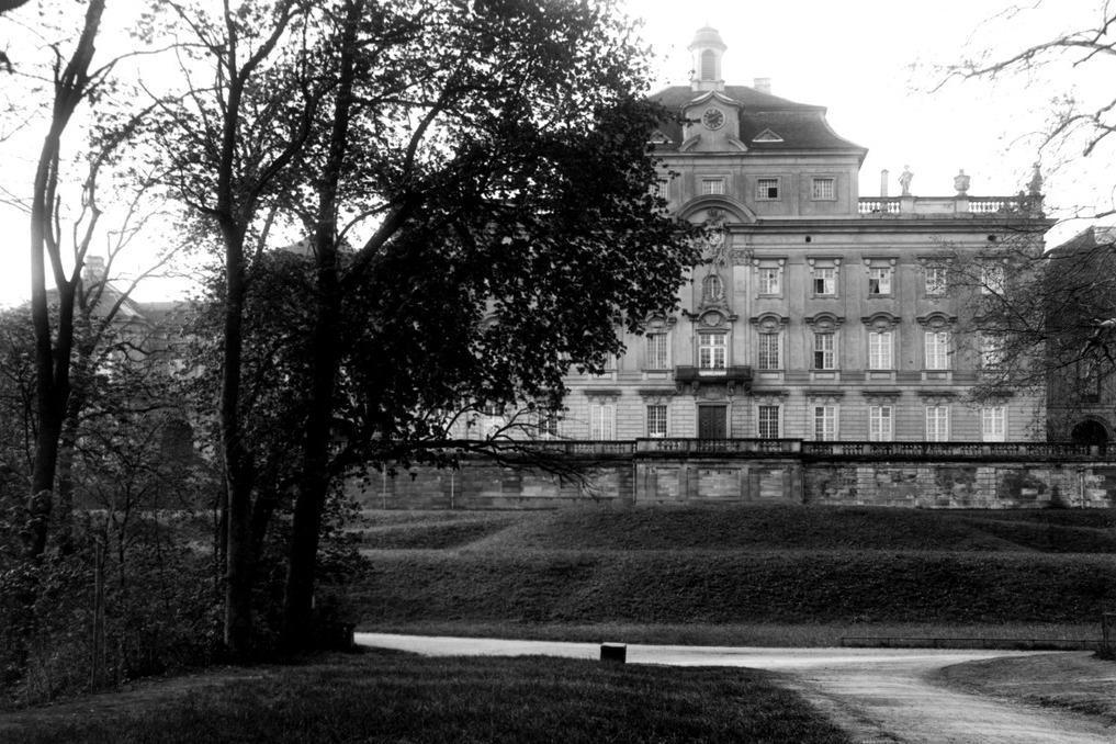 Residenzschloss Ludwigsburg, um 1920; Foto: Landesmedienzentrum für Baden-Württemberg, Otto Lossen