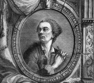 Der Architekt Philippe de la Guêpière, vor 1768