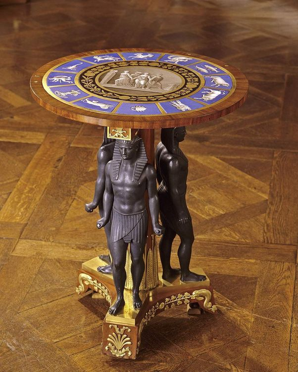 Ludwigsburg Palace, Egyptian-style side table