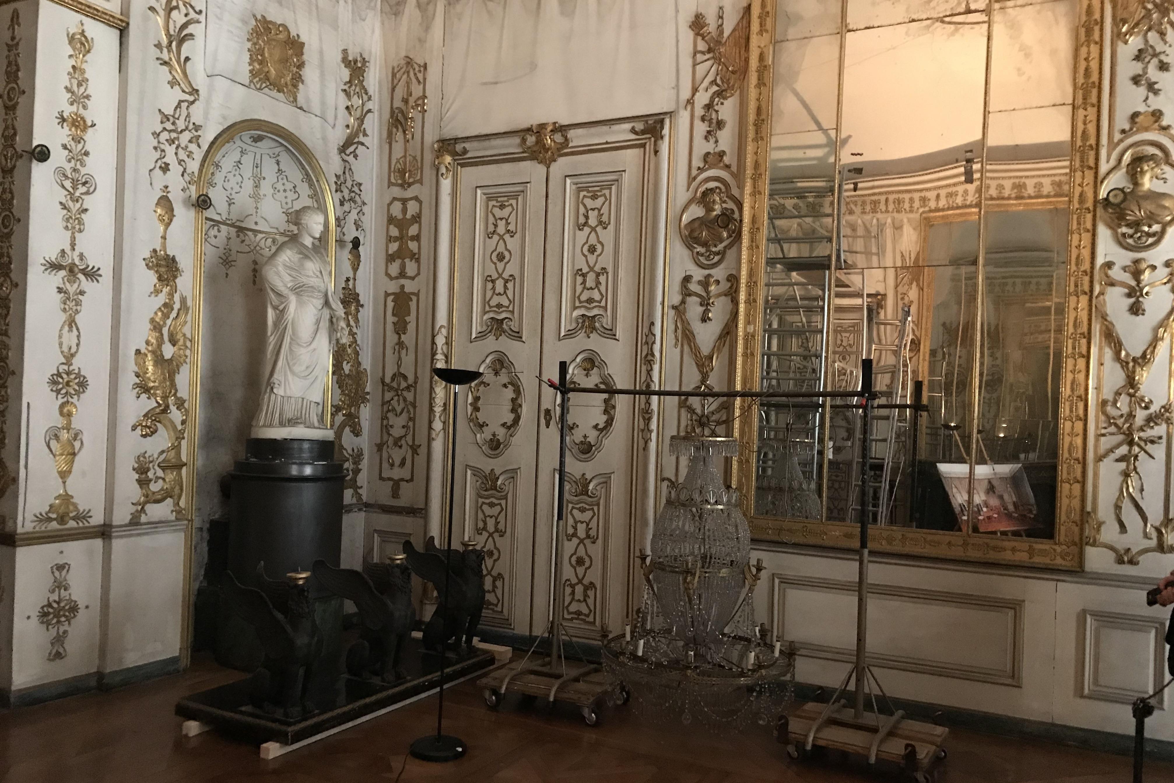 Residenzschloss Ludwigsburg, Restaurierungsarbeiten im königlichen Appartement