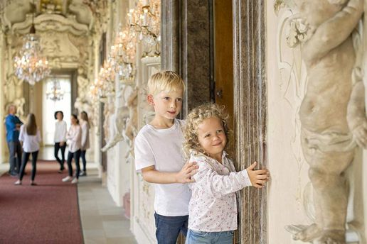 Ludwigsburg Palace, Children exploring the palace