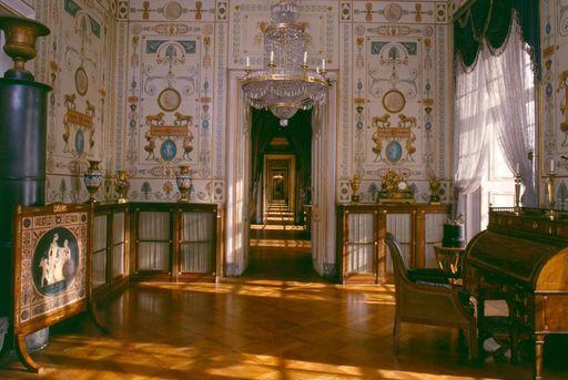 Registraturzimmer König Friedrichs I. im Residenzschloss Ludwigsburg