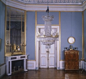 Writing room in King Friedrich I's apartment in the new central building, Ludwigsburg Residential Palace. Image: Landesmedienzentrum Baden-Württemberg, Dieter Jäger