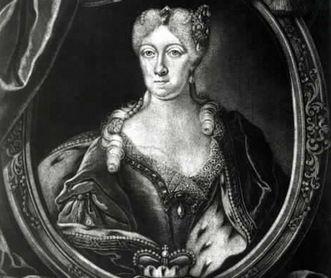 Herzogin Johanna Elisabetha, Kupferstich von Ferdinand Stenglin, um 1710; Foto: Landesmedienzentrum Baden-Württemberg, Robert Bothner