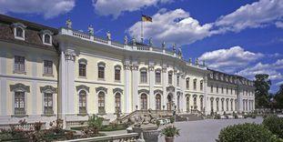 Das Residenzschloss Ludwigsburg von der Südseite