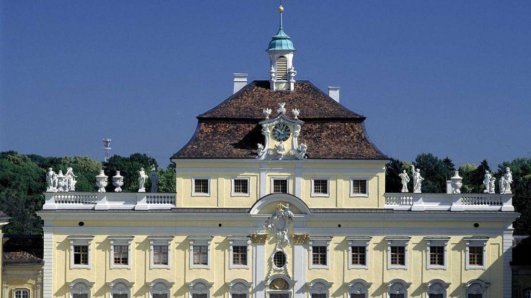 Alter Hauptbau des Residenzschlosses Ludwigsburg