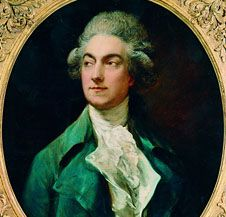 Gaetano Vestris, Porträt von Thomas Gainsborough, 1781; Foto: Wikipedia, gemeinfrei
