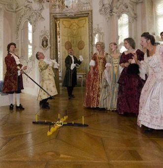 """""""Soirée Royale"""" im Residenzschloss Ludwigsburg; Foto: Staatliche Schlösser und Gärten Baden-Württemberg, Norbert Stadler"""