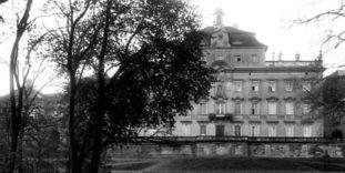 Ludwigsburg Residential Palaca, circa 1920.-