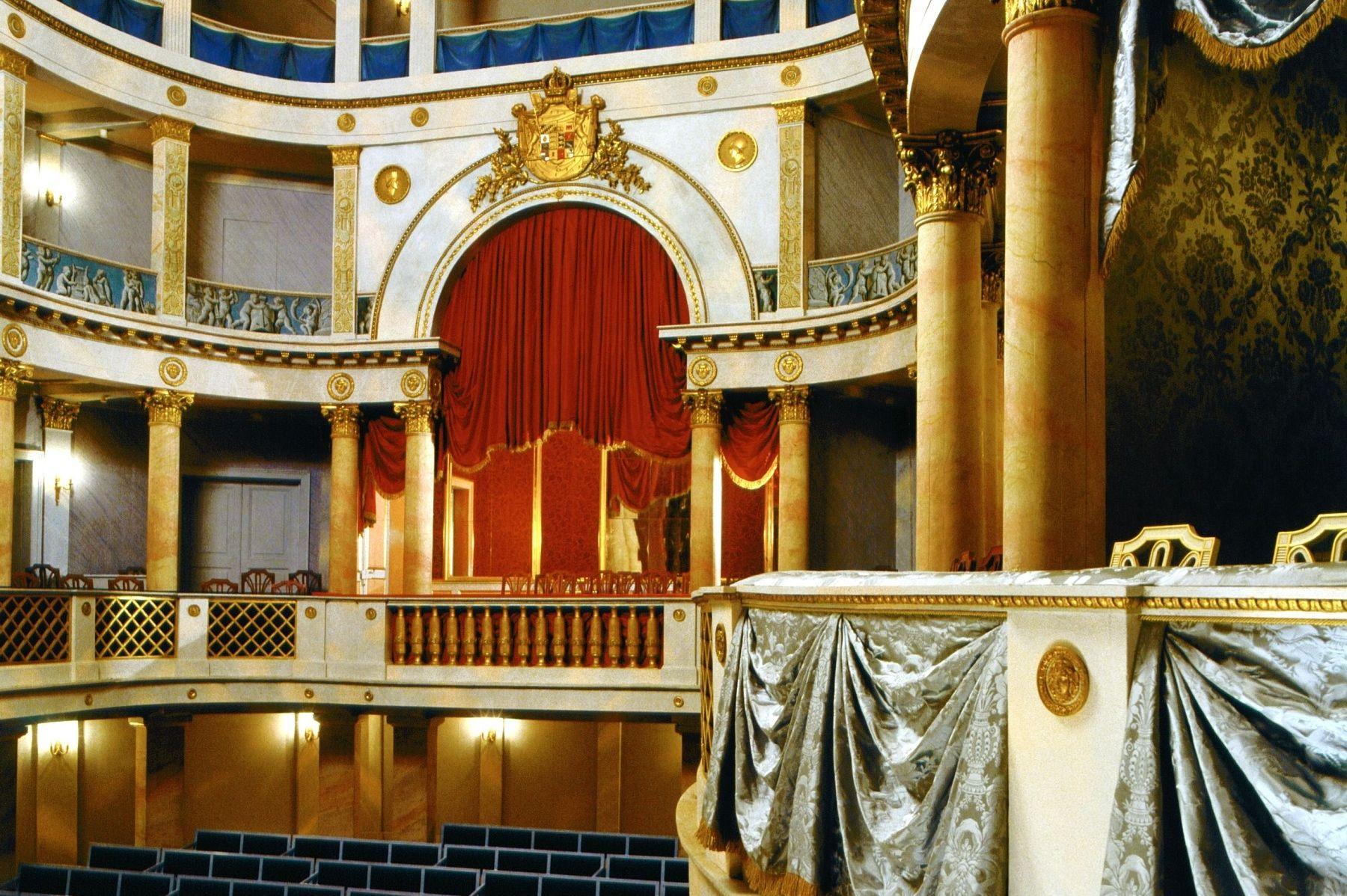 Blick ins Schlosstheater, Residenzschloss Ludwigsburg