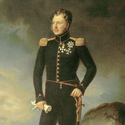 König Wilhelm I., Gemälde von Joseph Karl Stieler