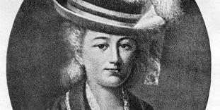 Porträt von Christiane Wilhelmine Friederike Gräfin von Würben
