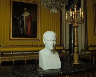 Büste von Napoleon Bonaparte in Schloss Ludwigsburg