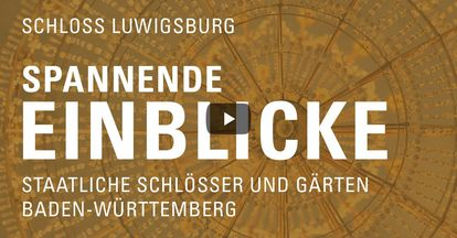 """Startbildschirm des Filmes """"Spannende Einblick mit Michael Hörrmann: Schloss Ludwigsburg"""""""
