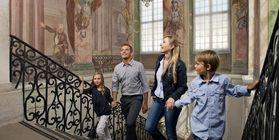 Besucher in Schloss Ludwigsburg