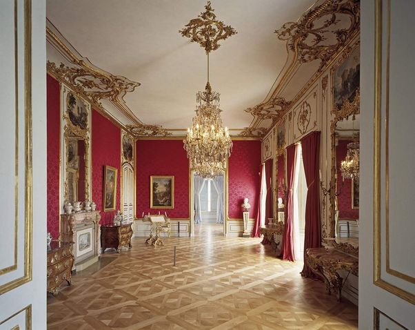 Ludwigsburg Palace, A look inside the assembly room