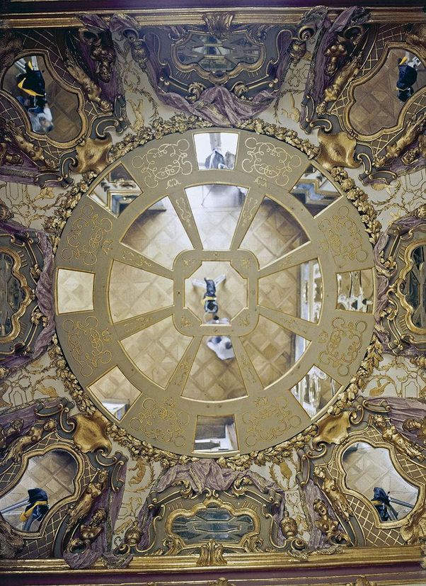 Ludwigsburg Palace, Ceiling of the Hall of Mirrors