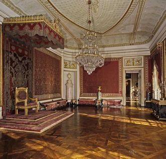 Audienzzimmer des Königs; Foto: Staatliche Schlösser und Gärten Baden-Württemberg, Steffen Hauswirth