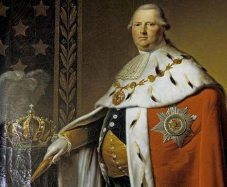 Portrait of King Friedrich I von Württemberg. Image: Landesmedienzentrum Baden-Württemberg, Dieter Jäger