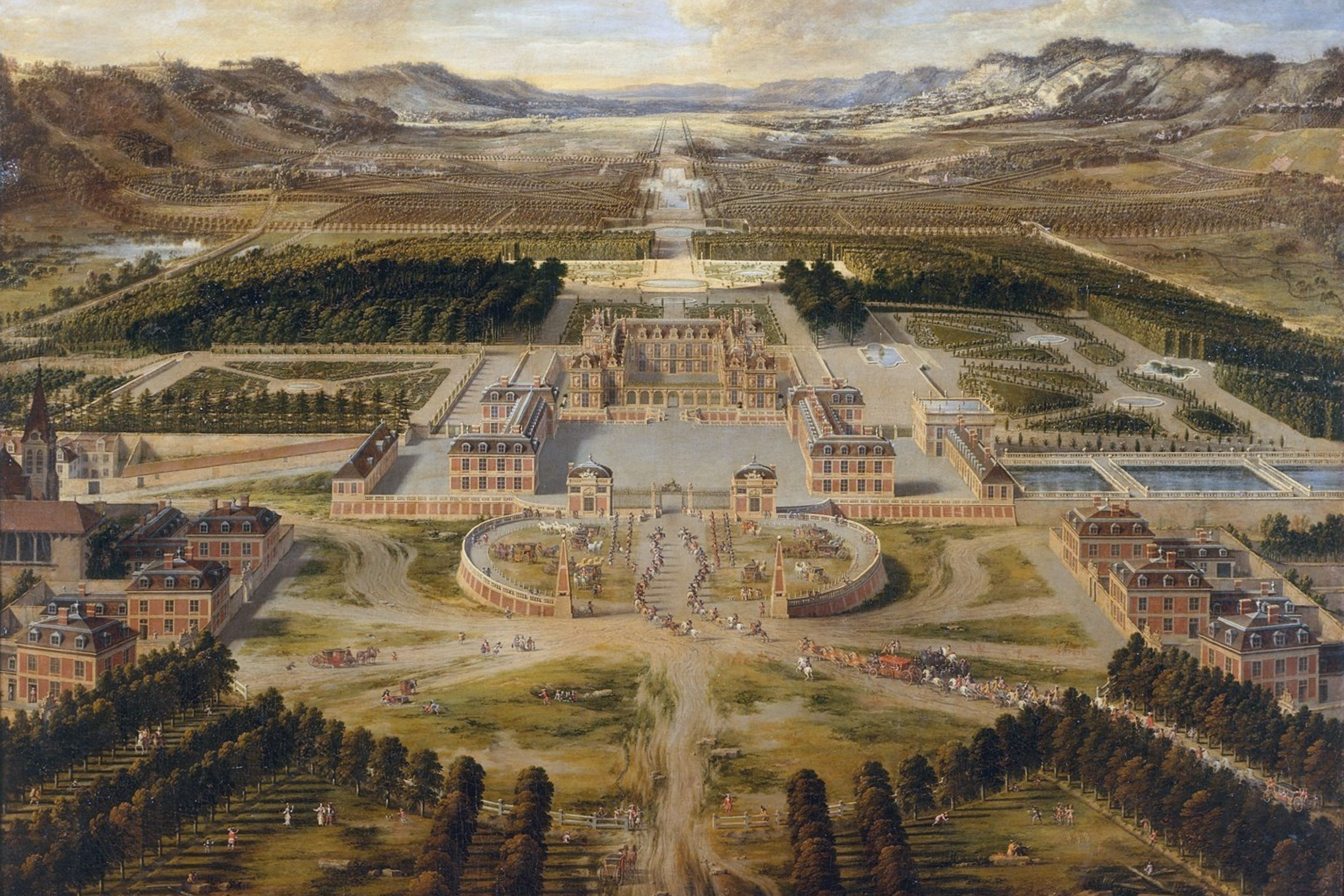 Versailles palace as a model for luxury. Image: Wikipedia, public