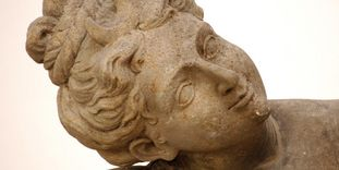 Detail aus dem Lapidarium im Residenzschloss Ludwigsburg