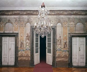 Antechamber to the duke's box in the court church at Ludwigsburg Residential Palace. Image: Landesmedienzentrum Baden-Württemberg, Dieter Jäger