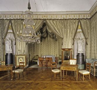 Schlafzimmer König Friedrichs I. im Residenzschloss Ludwigsburg