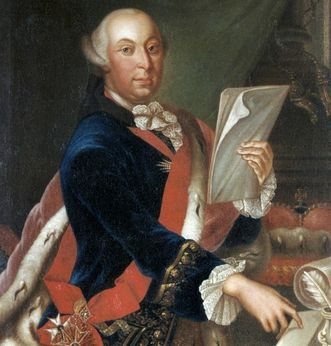 Porträt von Herzog Carl Eugen von Württemberg, um 1760; Foto: Landesmedienzentrum Baden-Württemberg, Dieter Jäger