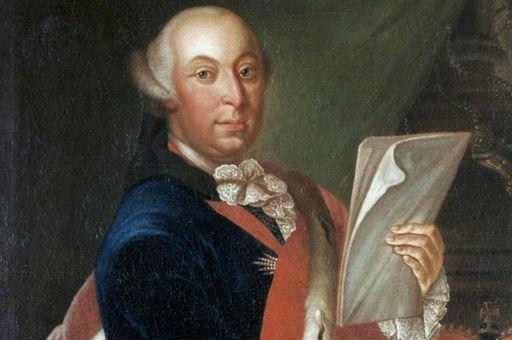 Porträt von Herzog Carl Eugen von Württemberg, um 1760