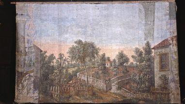 Vignoble, décor du théâtre du château, 1763, château résidentiel de Ludwigsbourg; crédit photo: Landesmedienzentrum Baden-Württemberg, DieterJäger