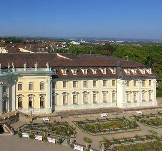 Neuer Hauptbau mit Mansarddächern, Residenzschloss Ludwigsburg