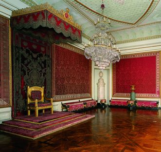 Image: King Friedrich's audience chamber at Ludwigsburg Residential Palace