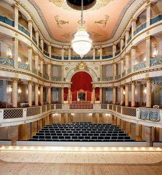 The palace theatre of Ludwigsburg Residential Palace; photo: Staatliche Schlösser und Gärten Baden-Württemberg, Joachim Feist