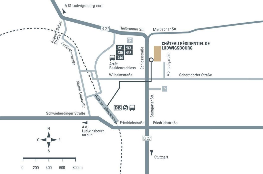 Château résidentiel de Ludwigsbourg