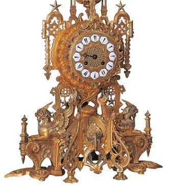 Tischuhr aus Paris, um 1850