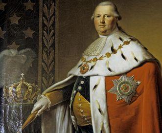 Portrait of King Friedrich I by Johann Baptist Seele, 1806. Image: Landesmedienzentrum Baden-Württemberg, Dieter Jäger