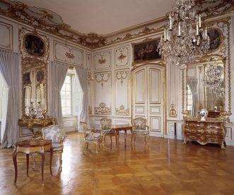 Zweites Vorzimmer des Appartements Herzog Carl Eugens im Residenzschloss Ludwigsburg