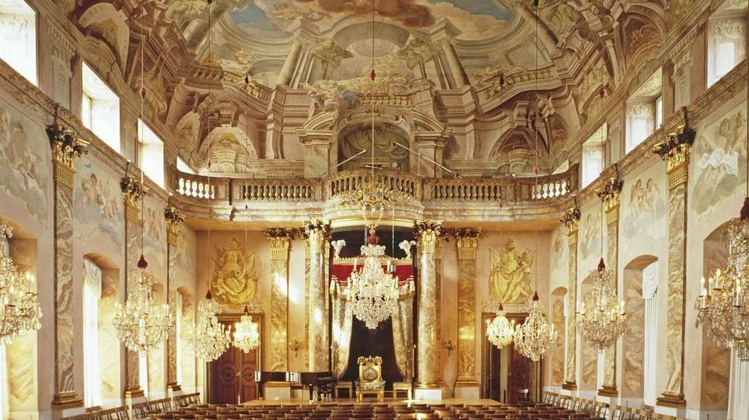 Image: Order hall at Ludwigsburg Residential Palace
