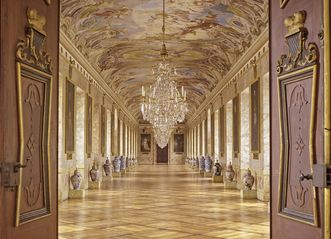 Ahnengalerie im Residenzschloss Ludwigsburg; Foto: Staatliche Schlösser und Gärten Baden-Württemberg, Steffen Hauswirth